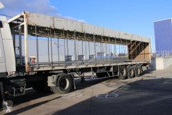 Fruehauf flatbed semi-trailer PLUIMVEE/VOLAILE/POULTRY