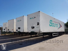 Used box semi-trailer Lecitrailer 3 E20