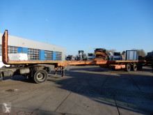 Semirremolque caja abierta EKW Extendable Flat trailer / 3x steering axle / 8,4 meter extendable / Twislocks / Air suspension / Double montage