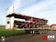 Полуремарке Lecitrailer Oplegger flatbed/plateau 15 x платформа втора употреба