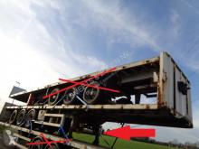 Lecitrailer plató félpótkocsi Oplegger 15x flatbed plateau