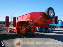 ACTM 3 eixos semi-trailer used heavy equipment transport