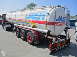 INDOX Isotherm Inoxydable 28000 L. semi-trailer used food tanker