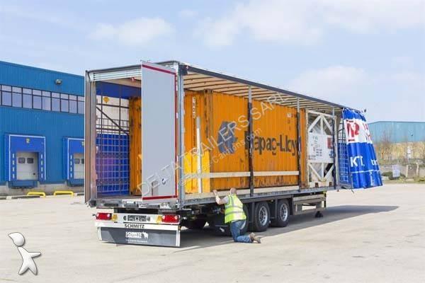 Voir les photos Semi remorque Schmitz Cargobull SCS VARIOS - Rehaussable au roulage jusqu\'a 3050mm - Actuellement disponible sur parc
