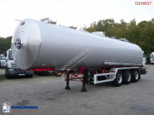 Semi remorque citerne Magyar Bitumen tank inox 31 m3 / 1 comp