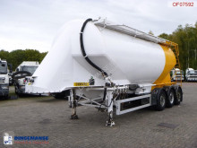 Feldbinder Powder tank alu 36 m3 / 1 comp semi-trailer
