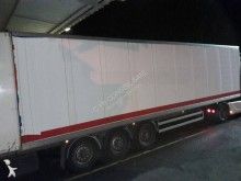 Samro 3 ESSIEUX semi-trailer used double deck box