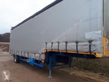 Tautliner semi-trailer SLSK185/110 SLSK185/110, Seilwinde, Edscha-Verdeck