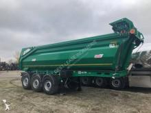 Semi remorque benne Enrochement Benalu Cargotrack 3 essieux