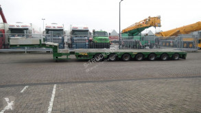 Semi remorque Faymonville 7 AXLE SEMI LOW LOADER 950 CM EXTENDABLE porte engins occasion