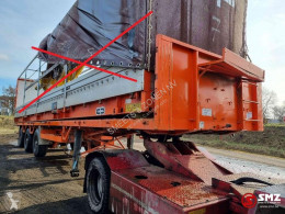 Kennis Oplegger stuurasse,Directional Axles semi-trailer used flatbed