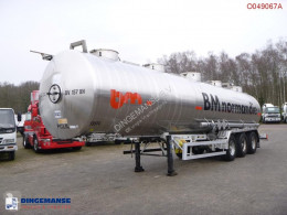 Trailer Magyar Chemical tank inox 32.5 m3 / 1 comp tweedehands tank chemicaliën