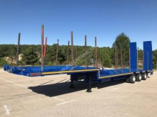 Leciñena heavy equipment transport semi-trailer CUELLO CISNE