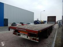 semi remorque Renders ROC 12.27 N14 Flat trailer / MB Disc / Hardwood floor / Lift axle