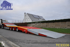 Flatbed semi-trailer Special Ramp Flatbed