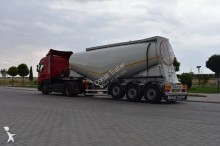 Donat powder tanker semi-trailer