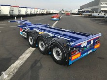 D-TEC container semi-trailer 3 essieux - FLEXITRAILER - Multipositions -