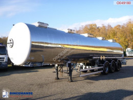 Magyar Chemical tank inox 33 m3 / 1 comp semi-trailer used chemical tanker
