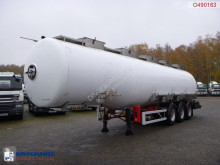 Magyar Chemical tank inox 37.5 m3 / 3 comp semi-trailer used chemical tanker