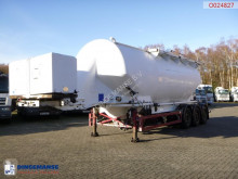 Semi remorque Feldbinder Powder tank alu 40 m3 / 1 comp + engine/compressor citerne occasion