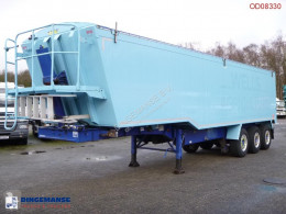 Semi reboque basculante Weightlifter Tipper trailer alu 51.5 m3 + tarpaulin