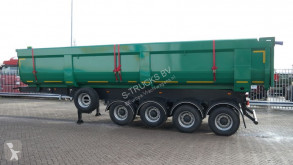 4 AXLE NEW HEAVY DUTY TIPPER TRAILER 37 M3 semi-trailer used tipper