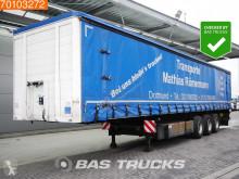 semi remorque Schmidt Stahl Transport Verbreitbar Rungen Palettenkasten