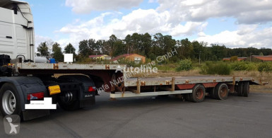 BPW semi-trailer used flatbed