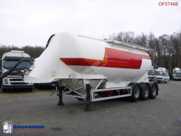 Feldbinder tanker semi-trailer Powder tank alu 38 m3 / 1 comp