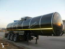 Donat insulated semi-trailer Bitumen Tank