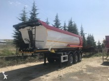 Donat half-pipe semi-trailer 28m3 Tipper Trailer