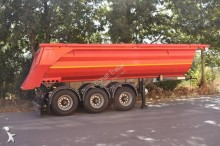 Donat half-pipe semi-trailer 24m3 Tipper Trailer