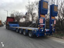 Donat 4 Axle Lowbed Extendable semi-trailer new heavy equipment transport