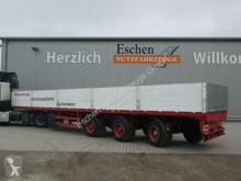 Dinkel dropside flatbed semi-trailer 2 Achsen gelenkt, SAF, Luft/Lift