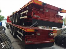 Donat flatbed semi-trailer Flatbed Double Tire