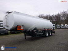Caldal Fuel tank alu 28 m3 / 5 comp + pump semi-trailer used tanker