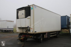 Used mono temperature refrigerated semi-trailer Samro AUBINEAU + CARRIER MAXIMA 1000 + DHOLLANDIA 2000 kg
