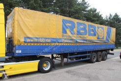 Bunge LAMES - BACHER + RIDELLES / STEEL SPRING - ALU SIDEBOARDS semi-trailer used tautliner