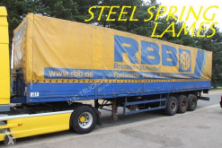 Bunge LAMES - BACHER + RIDELLES / STEEL SPRING - ALU SIDEBOARDS used other semi-trailers