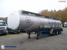 BSLT Chemical tank inox 34 m3 / 4 comp semi-trailer