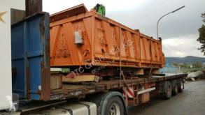 Semirremolque Schmitz Cargobull Pritsche offen für Stahl und Beton Teile portamáquinas usado