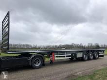 semi remorque Vlastuin VTR Flat loader , platform , steel-stahl trailer