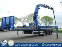 Royen SPXG1F2D-39-13.5 mkg hlk671hp+jib semi-trailer used flatbed