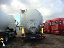 Spitzer powder tanker semi-trailer CITERNE PULVE 58M3 38T BENNABLE 3 ESSIEUX ESSIEUX BPW SUSPENSIONS AIR ABS COMPRESSEUR 24