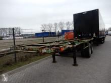 semi remorque Flandria 20 FT Chassis / Steel suspension / Double montage