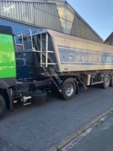 Stas SA339K semi-trailer used tipper