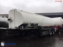 Sættevogn nc Fuel tank alu 28 m3 / 5 comp + pump citerne brugt