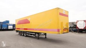 Groenewegen BPW, liftas, hardhouten vloer, volledig chassis semi-trailer