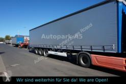Krone SD Pritsche+Plane Code XL Auflieger Standard semi-trailer used tarp