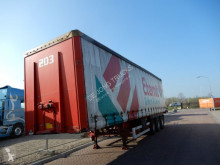 Van Hool tautliner semi-trailer Curtains / Kooi-aap / Lift axle